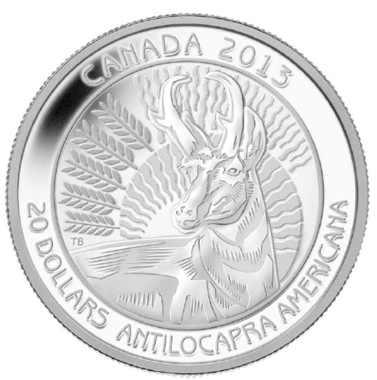 Canada 2013 $20 Pure Silver 300th Anniversary of Louisbourg Coin Sale