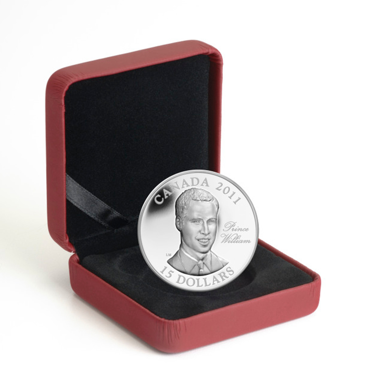 Harry Prince Henry 2011 $15 Ultra-High Relief Sterling Silver H.R.H of Wales