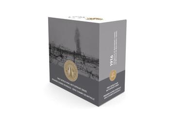 2016 $20 FINE SILVER COIN - FIRST WORLD WAR BATTLEFRONT SERIES: THE BATTLE OF BEAUMONT-HAMEL