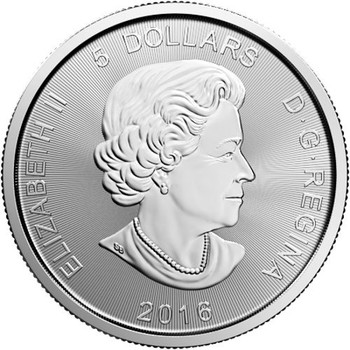 1oz. 2016 CANADIAN COUGAR SILVER COIN