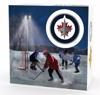 2017 $10 FINE SILVER COIN PASSION TO PLAY: WINNIPEG JETS®