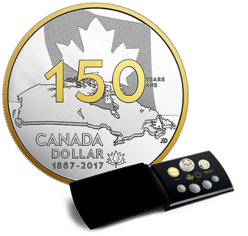2017 SPECIAL EDITION FINE SILVER PROOF SET CANADA 150: OUR HOME AND NATIVE LAND