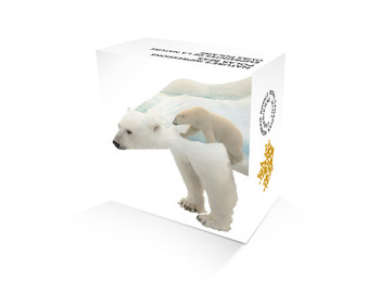 2017 $20 FINE SILVER COIN – NATURE'S IMPRESSIONS: POLAR BEAR