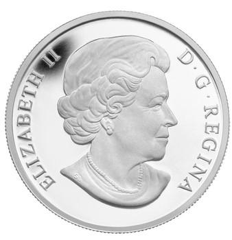 2013 FINE SILVER $10 COIN - WINTER SCENE - MINTAGE: 8000