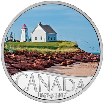 2017 $10 FINE SILVER COIN CELEBRATING CANADA'S 150TH: PANMURE ISLAND