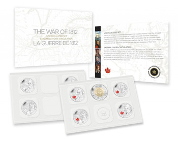2013 SPECIAL EDITION UNCIRCULATED SET- THE WAR OF 1812