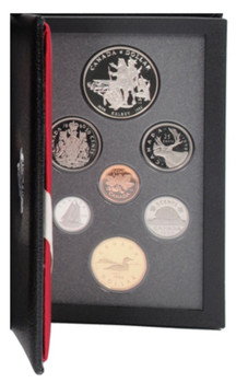 1990 PROOF DOUBLE DOLLAR SET