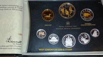 2012 RCNA PURE SILVER PROOF SET - 1ST EVER SILVER PENNY - LIMITED TO 200