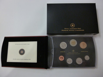 2012 7-COIN SPECIMEN SET - 25TH ANNIVERSARY OF THE LOONIE