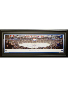 TORONTO MAPLE LEAFS AIR CANADA CENTRE PANORAMA 16X42 FRAME