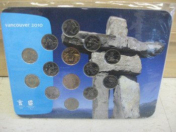 2010 OLYMPIC QUARTER & LOONIE COLLECTION