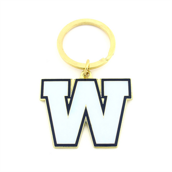 WINNEPEG BLUE BOMBERS - DIE CUT LOGO KEYCHAIN - CFL FOOTBALL