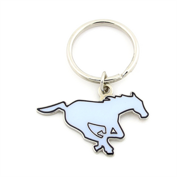 CALGARY STAMPEDERS - DIE CUT LOGO KEYCHAIN - CFL FOOTBALL