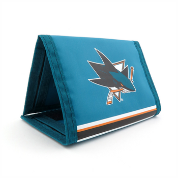 SAN JOSE SHARKS - NYLON TRI-FOLD WALLET