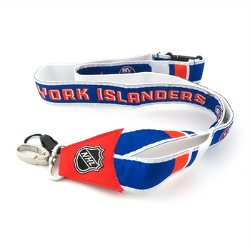 NEW YORK ISLANDERS NHL HOCKEY LANYARD - WOVEN
