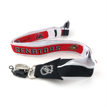 OTTAWA SENATORS NHL HOCKEY LANYARD - WOVEN