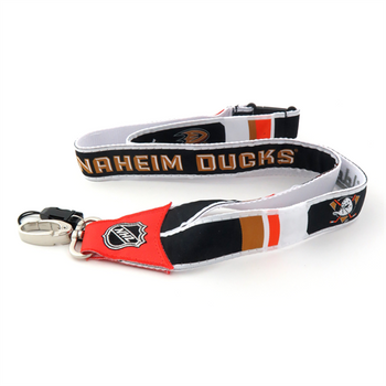 ANAHEIM DUCKS NHL HOCKEY LANYARD - WOVEN