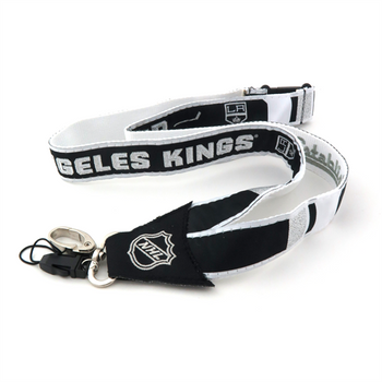 LOS ANGELES KINGS NHL HOCKEY LANYARD - WOVEN