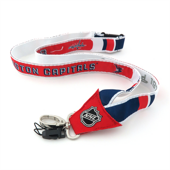 WASHINGTON CAPITALS NHL HOCKEY LANYARD - WOVEN