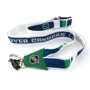 VANCOUVER CANUCKS NHL HOCKEY LANYARD - WOVEN