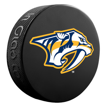NHL OFFICIAL NASHVILLE PREDATORS SOUVENIR PUCK