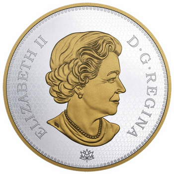 2017 1 KILOGRAM $250 PURE SILVER COIN - A TRIBUTE TO THE FIRST CANADIAN GOLD COIN