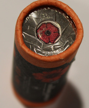 2004 POPPY 25-CENT SPECIAL WRAP ROLL