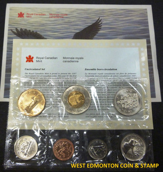 1997 UNCIRCULATED PROOF LIKE SET