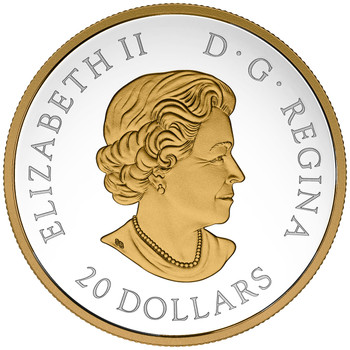 2017 $20 FINE SILVER COIN LOCOMOTIVES ACROSS CANADA: RS 20