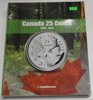 VISTA COIN BOOK CANADA 25 CENTS (QUARTERS)  - VOL 3 - 2000-DATE
