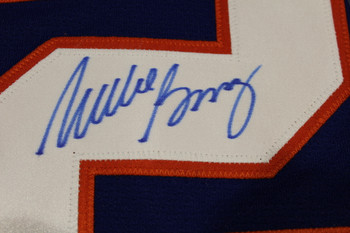 Mike Bossy New York Islanders Autographed Stanley Cup Retro CCM Hockey Jersey
