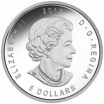 2017 $5 FINE SILVER COIN ANA WORLD'S FAIR OF MONEY