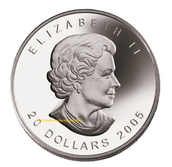 2005 $20 FINE SILVER COIN - LIGHTHOUSE COLLECTION - TORONTO ISLAND