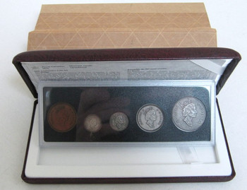 1998 COMMEMORATIVE ANTIQUE FINISH PROOF SET - 90TH ANNIVERSARY