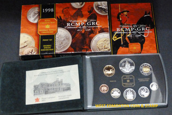 SALE - 1998 PROOF DOUBLE DOLLAR SET