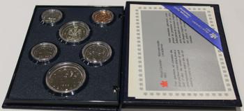 1986 SIX COIN SPECIMEN SET