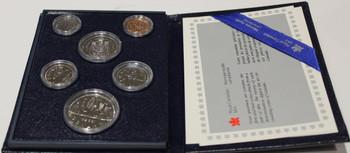 1985 6-COIN SPECIMEN SET