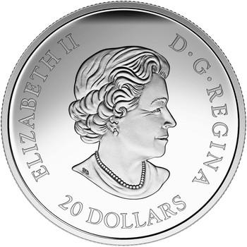 2015 $20 FINE SILVER COIN A HISTORIC REIGN