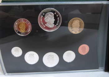 2004 Canada 25 Cents First French Settlement Commemoration BU