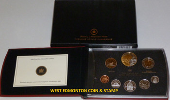 2008 PROOF DOUBLE DOLLAR SET