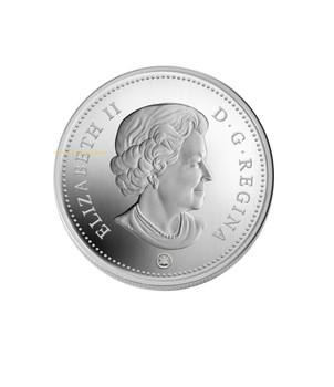 2008 $20 FINE SILVER COIN - CRYSTAL RAINDROP