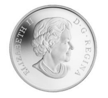 2014 $10 FINE SILVER COIN NORTHERN PINTAIL