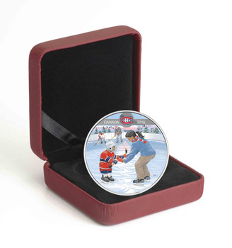 2018 $10 FINE SILVER COIN LEARNING TO PLAY: MONTREAL CANADIENS®