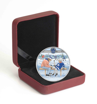 2018 $10 FINE SILVER COIN LEARNING TO PLAY: TORONTO MAPLE LEAFS®
