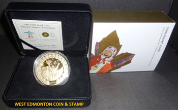 2009 OLYMPIC $300 PREMIUM GOLD COIN - FRIENDSHIP