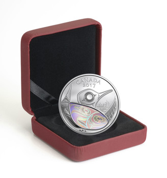 2017 $20 FINE SILVER COIN CANADA: PROTECTING OUR FUTURE