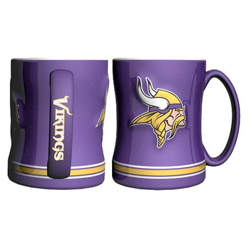 MINNESOTA VIKINGS NFL RELIEF MUG