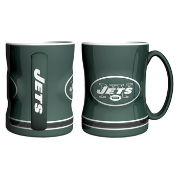 NEW YORK JETS NFL RELIEF MUG