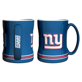 NEW YORK GIANTS NFL RELIEF MUG