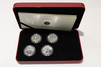2005 50-CENT STERLING SILVER SIX-COIN SET